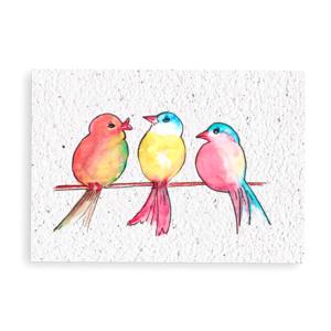 Vogeltjes op stok