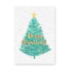 kaart met zaadjes kerst