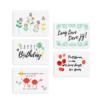 Verjaardagsbox 5 kaartjes groeipapier